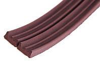 Уплотнитель TRELLEBORG Е профиль коричневый 100м
