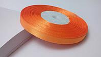 Лента атласная 0,6 см №11 оранжевая