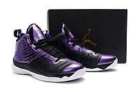 Баскетбольные кроссовки Nike SuperFly 5 violet-black