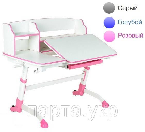 Стол-трансформер с надстройкой Amare 120см, 3 цвета