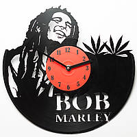 Часы виниловые Bob Marley