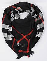 Большой кашемировый платок, шаль Burberry черная