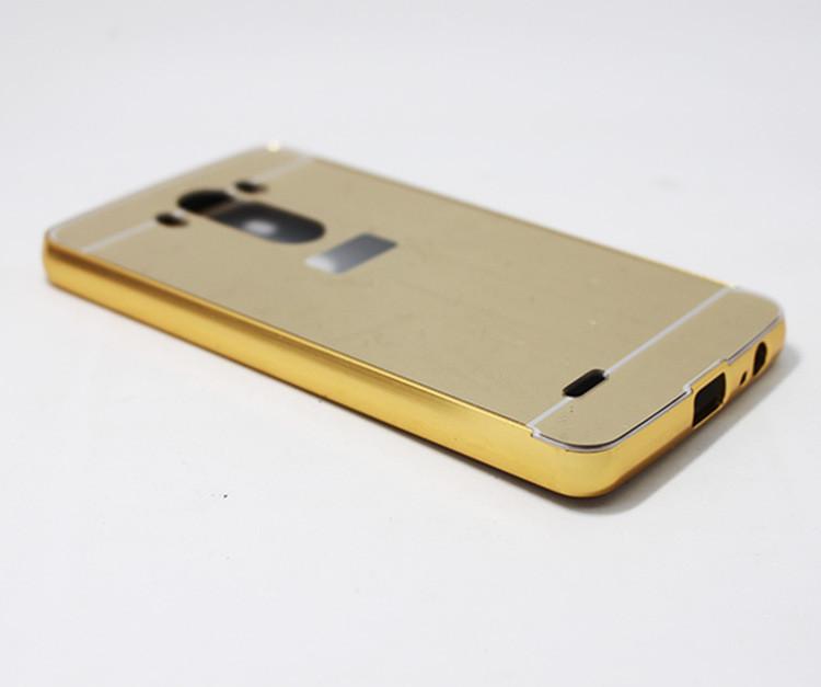 Алюминиевый чехол бампер для LG G3