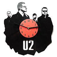 Часы виниловые U2