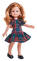 Кукла Paola Reina Клэр в клетчатом платье 32 см (04505)