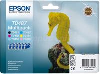 Оригинальные чернила Epson T0487 Stylus Photo [Multi Pack]