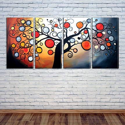 """Модульная картина """"Дерево"""", фото 2"""
