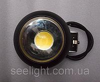 Дополнительная светодиодная фара универсальная 20W COB 10-30V Белый