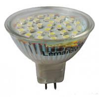 Лампа светодиодная Lemanso LM319 MR16 30LED 4W 400LM 4500K 230V