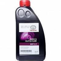 Тормозная жидкость TOYOTA Brake & Clutch Fluid DOT 5.1
