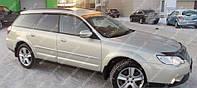 Ветровики окон Субару Аутбек 3 (дефлекторы боковых окон Subaru Outback 3)