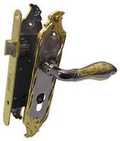 Комплект Ручки Antique Collection AC-46Y55 +механизм Bruno 968-45 кл. черный никель/латунь