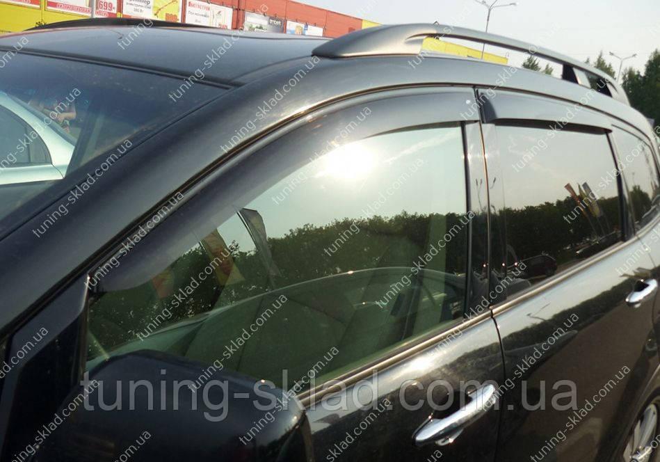 Ветровики окон Субару Трибека (дефлекторы боковых окон Subaru Tribeca)