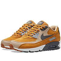 ec8045a7 Оригинальные кроссовки Nike Air Max 90 Premium Desert Ochre, Grey & Linen