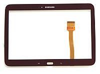 Оригинальный тачскрин / сенсор (сенсорное стекло) для Samsung Galaxy Tab 3 10.1 P5200 P5220 P5210 (коричневый)