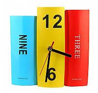 Картонные настольные часы Книги прGK23