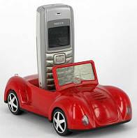 Подставка-часы под мобильный телефон Машина прNP37