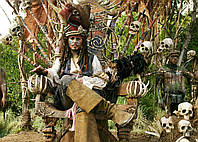 Картина 60х40 см Пираты Карибского моря Джунгли