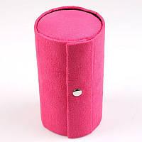 Женская розовая шкатулка для бижутерии.