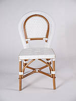 Стул bistro №2,натуральный ротанг,плетенная мебель,мебель  для кафе