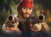 Картина 60х40 см Пираты Карибского моря Оружие
