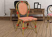 Стул bistro №1 ,натуральный ротанг,плетенная мебель,мебель для кафе,садовая мебель