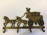 "Ключница - вешалка ""повозка с каретой"" Stilars 130090"