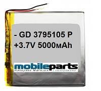 Оригинальный Универсальный Внутренний Аккумулятор АКБ 37x95x105 (5000 мАh) АААА Класс