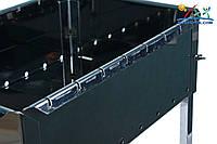 Силумин мангал для шашлыков на восемь шампуров МШН08
