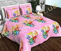 Детский комплект постельного белья в кроватку №дсм30