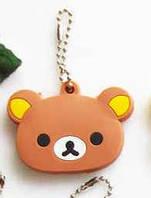 Медведь коричневый брелок на ключи, фото 1