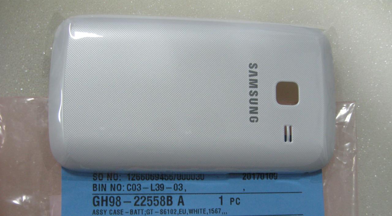 Крышка задняя Samsung GT-S6102, GH98-22558B