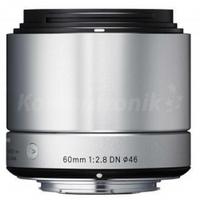 Объективы, Sigma 60MM F2.8 A DN Silver Sony-E
