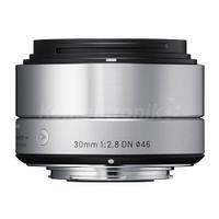 Объективы, Sigma 30MM F2.8 A DN Silver micro 4/3