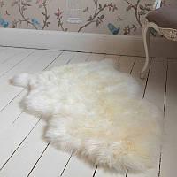 Шкура овечья белая размер130х80