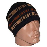 Теплая мужская шапка на флисе! , фото 1