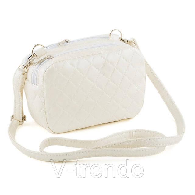 f8295cacf296 Сумка через плечо женская белая : продажа, цена в Киеве. женские сумочки и  клатчи от
