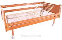 Кровать медицинская деревянная функциональная двухсекционная OSD-93