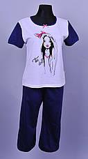 Женская пижама  (хлопок), фото 3