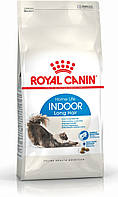 Royal Canin Indoor Longhair/Роял Канин для домашних длинношерстных кошек от 1 до 7 лет