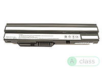 Усиленный АККУМУЛЯТОР (БАТАРЕЯ) для ноутбука MSI BTY-S12 Wind U100 11.1V Black 6600mAhr