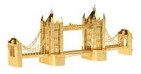 Металлический конструктор Тауэрский мост золото
