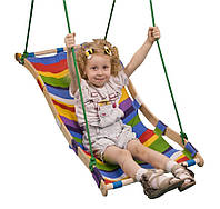 Детская деревянная качеля-гамак ТМ SportBaby Разноцветный sport-20