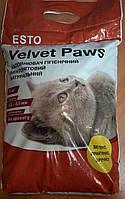 Наполнитель бентонитовый Бархатные лапки (Velvet Paws), крупный 5 кг