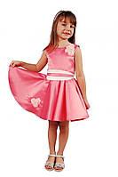 Нарядное (праздничное) платье 15-251 для девочки от 4 до 9 лет (р. 104-134) от ТМ Kids Couture Розовый