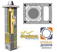 Керамический дымоход SCHIEDEL-UNI (Рондо Плюс) диаметр 20 см + вентканал