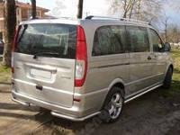 Защита заднего бампера Mercedes Vito 639