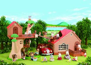 Happy family домики и животные флоксовые