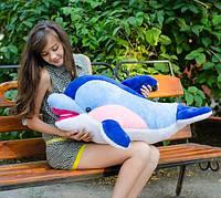 Мягкая игрушка плюшевый Дельфин Фенси