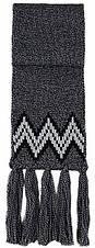 Теплый вязанный молодежный шарфик унисекс от Loman Польша, фото 3